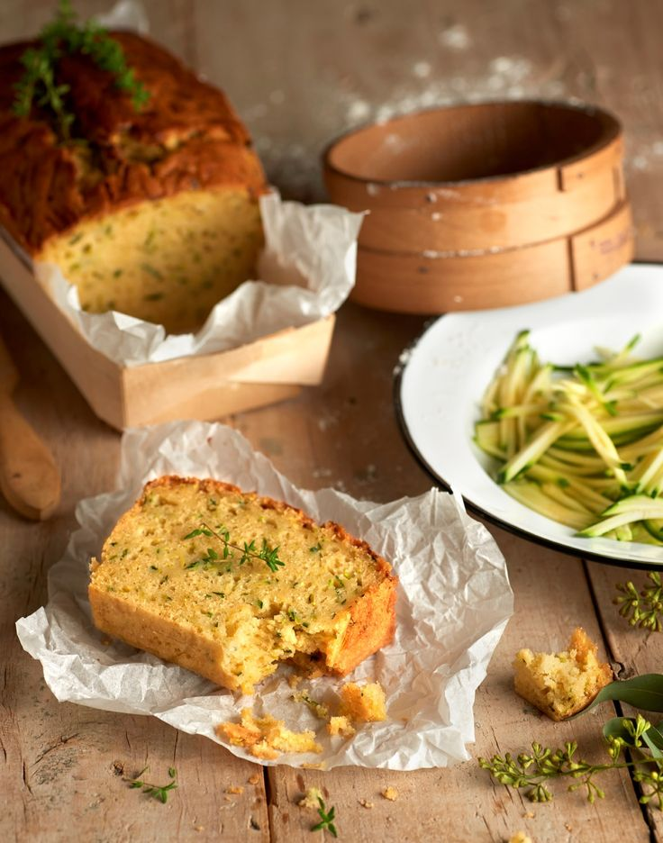 Bizcocho de #calabacín, para que descubras otra de las posibilidades de las verduras y hortalizas en tus dulces.