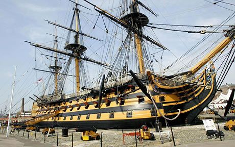 HMS Victory: Lord Nelson's flagship at the Battle of Trafalgar