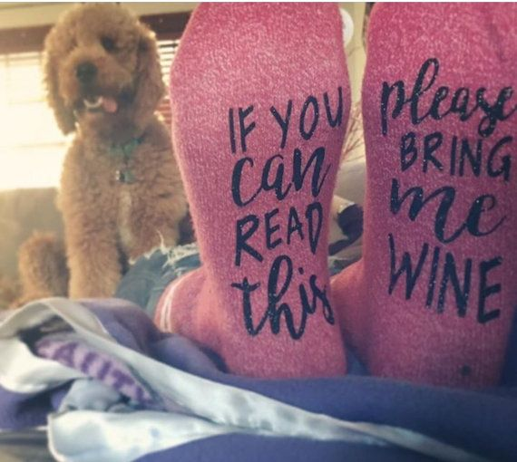 If You can read this please bring me WINE от OnTheBeachBoutique