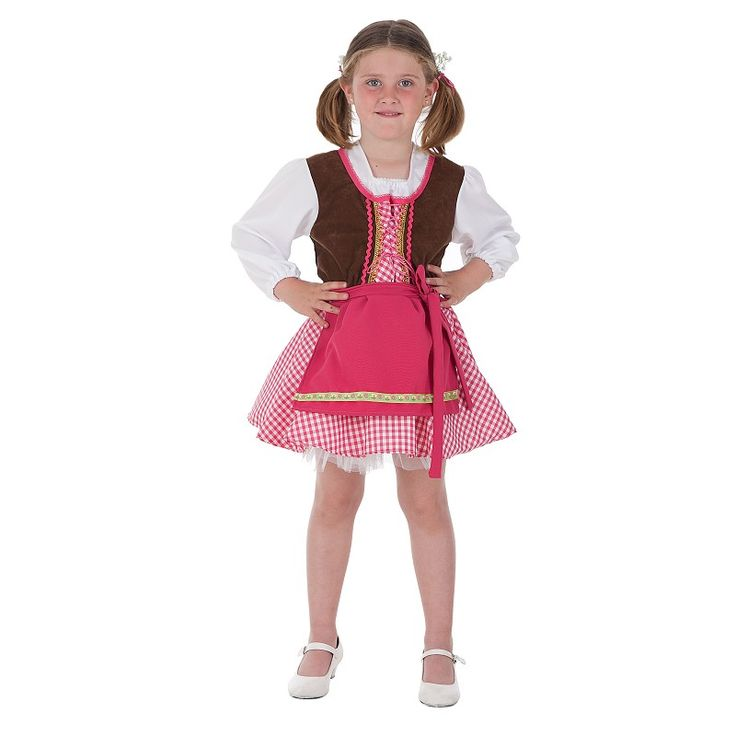 Disfraz Tirolesa Niña Infantil