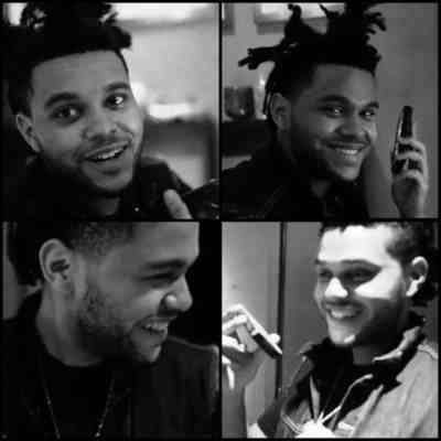 the weeknd.....smile makes me melt, just like his voice