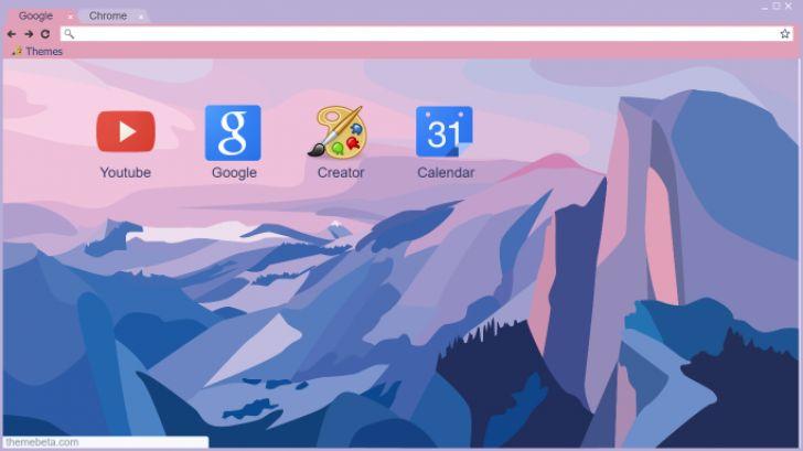 Flat Minimalist Mac OS X Yosemite Chrome Theme - ThemeBeta