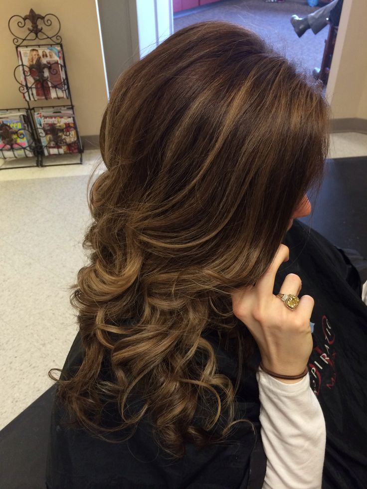 Balayage highlights natural highlights