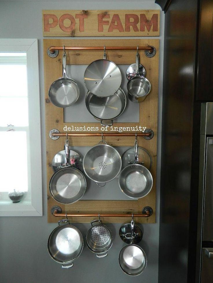 25 best ideas about pot racks on pinterest pot rack