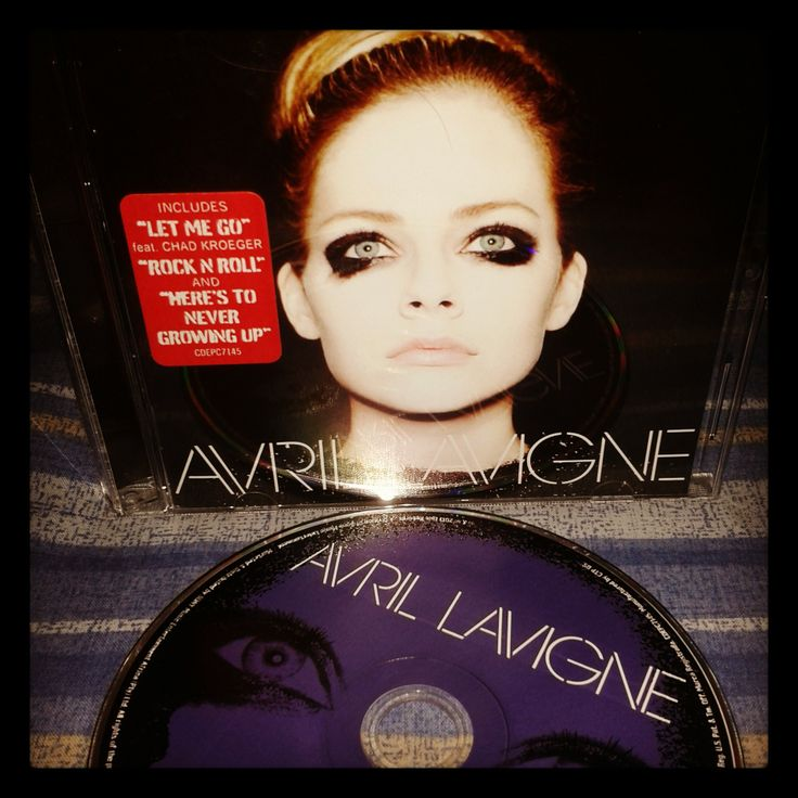 Avril Lavigne's new album. A very likable and good to listen to album. Lovit!
