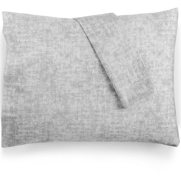 bar iii cross hatch pair of standard pillowcases 29 cad liked on polyvore