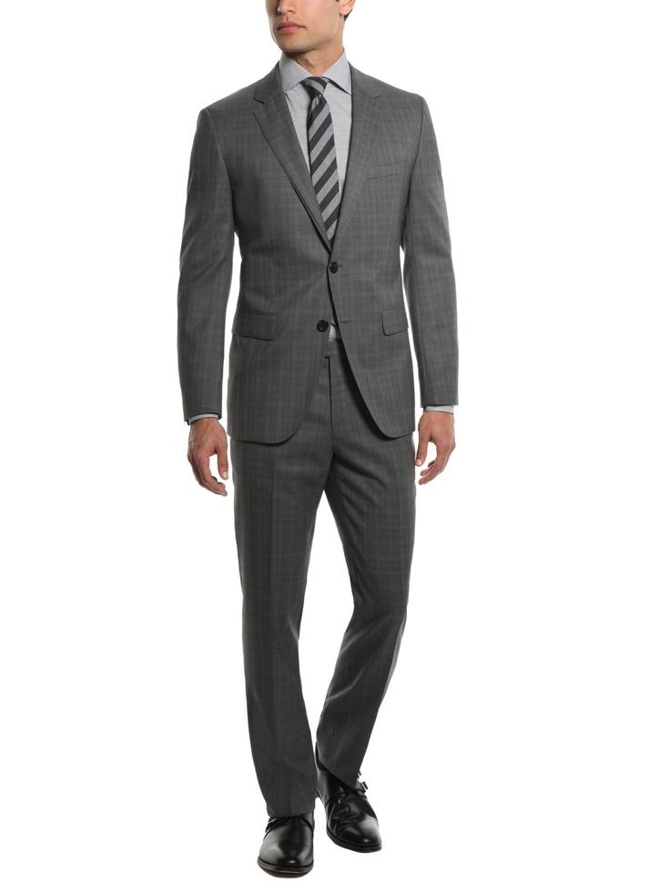 Grey plaid suit: Black James, With Boot, James Sharp, Boss Black, Plaid Suits,  Suits Of Clothing, Sharp Plaid, Bota Angosta, Grey Plaid