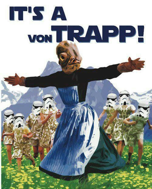 Admiral Ackbar – Crazy As A Bag Of Hammers