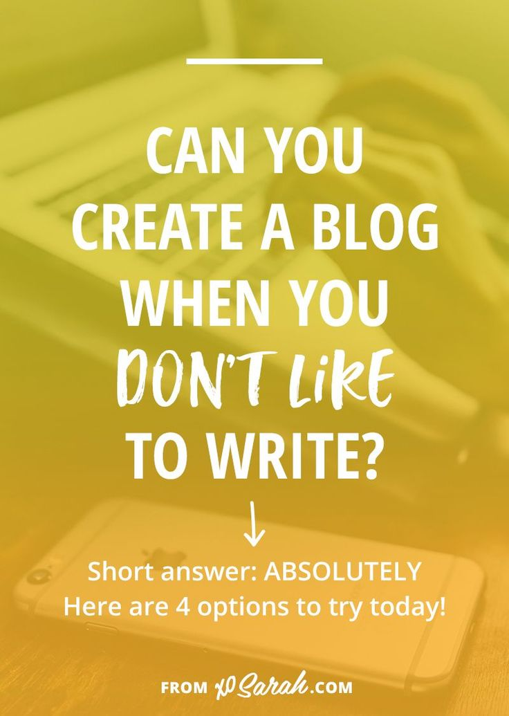 If writing thousand-word blog posts sounds like a major pain but you still REALLY want to blog then try these four ideas for publishing content consistently without writing a word!