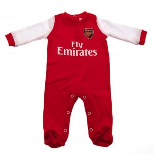 Arsenal Baby Sleeping Suit - 12/18 Months