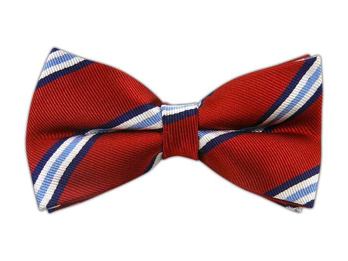Pulsar Stripe - Red (Bow Ties) - Pulsar Stripe - Red (Bow Ties)