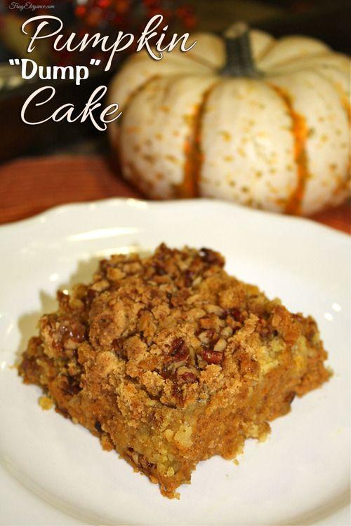 Pumpkin dump cake recipe the kitchen