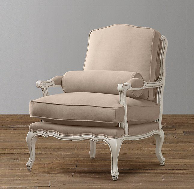 Mini French Upholstered Salon Chair
