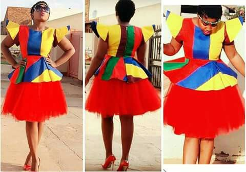Ndebele tradition design
