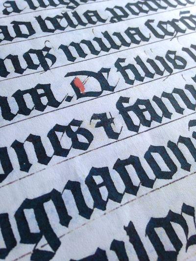 26 Best Calligraphy Blackletter Fraktur Textura