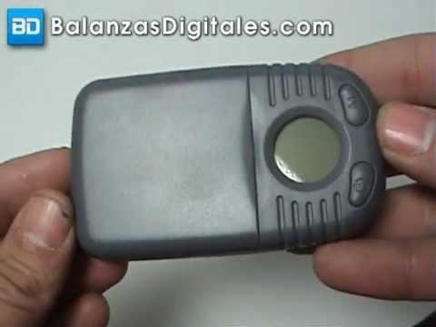 Balanza Digital Fuzion Edge-500 - Manual de uso y calibración -