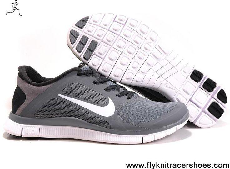 faux sortie Nike Free Run 4.0 V3 Chaussures Hommes Respirant Gris Marbre Blanc vue prise prendre plaisir vente images footlocker GtwOdP