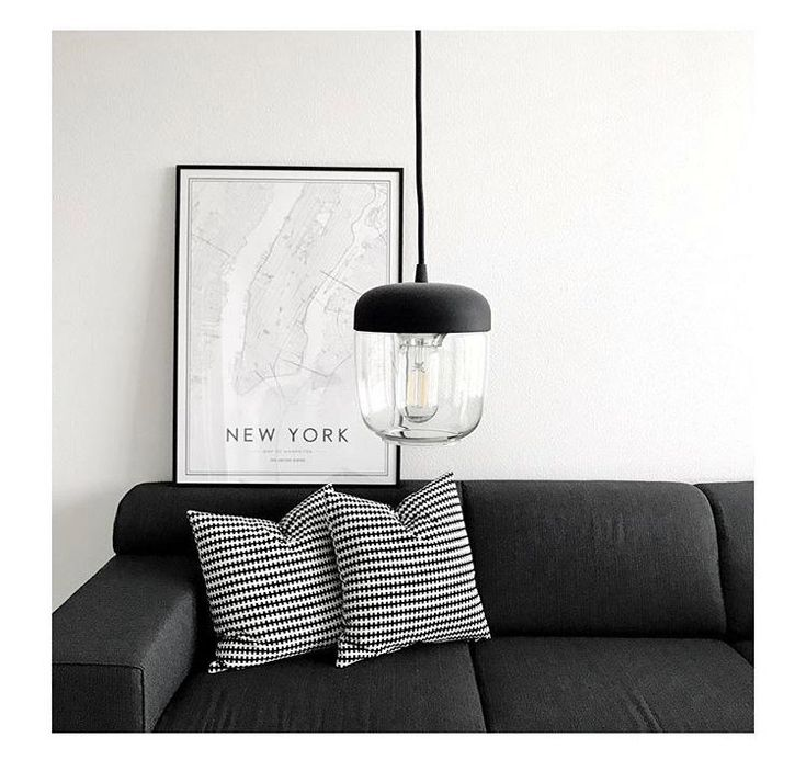 Sleek, minimal and cool. The Acorn lamp in the home of @mrminimal.