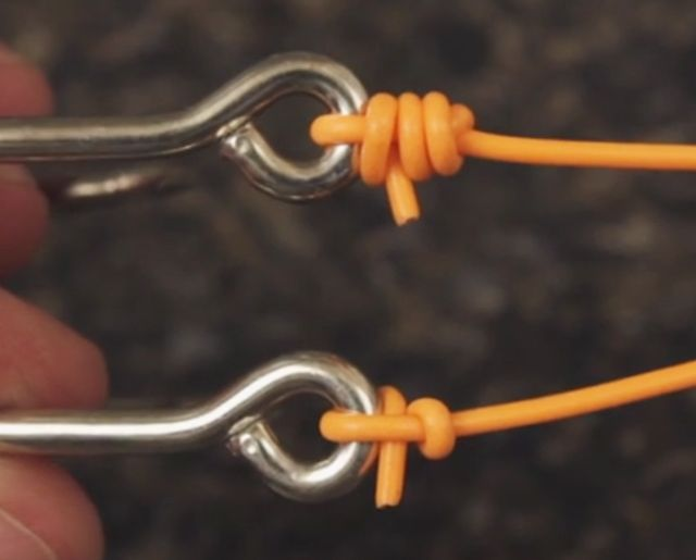 Best 25 clinch knot ideas on pinterest palomar knot for Clinch knot fishing
