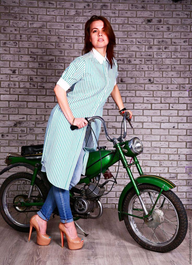 Купить Женская рубашка из хлопка - рубашка, рубашка женская, женская рубашка, женская рубаха, блуза