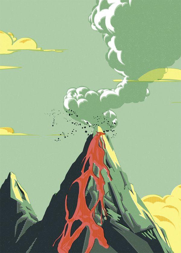 BBK Live Poster by Ink Bad Company, via Behance