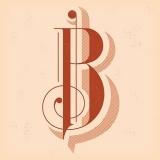 b.: Design Inspiration, Calligraphic Art, Type, Typography, Fonts