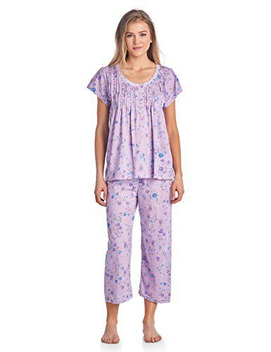 New Trending Pants: Casual Nights Womens Short Sleeve Capri Pajama Set - Purple - 2X. Casual Nights Women's Short Sleeve Capri Pajama Set – Purple – 2X   Special Offer: $18.99      100 Reviews Please use this size chart to determine which size will fit you best, if your measurements fall between two sizes we recommend ordering a larger size as most people...