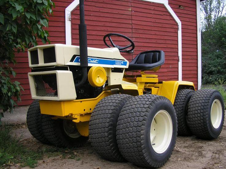 John Deere Garden Tractors 4x4 : Best images about tractors on pinterest old