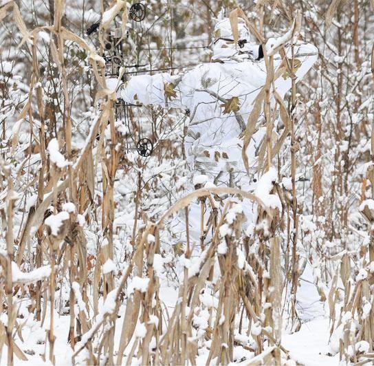 Костюм маскировочный охотничий зимний