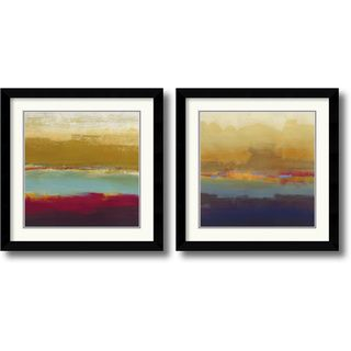 Craig Alan 'Domain Two' Framed Art Print Set | Overstock.com Shopping - The Best Deals on Prints