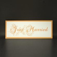 Catherine just married card