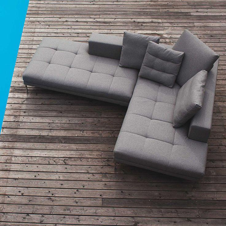 Sofa Mattias marki Sits. Znajdź więcej na: www.euforma.pl #sofa #sits #livingroom #design #furniture #home