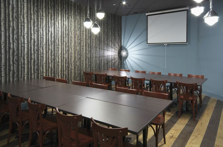Beautiful conference room great for meetings of up to 24 people, full-equipped with a projector + screen and unlimited free WiFi!  | Zizzi Manchester Piccadilly, 2014