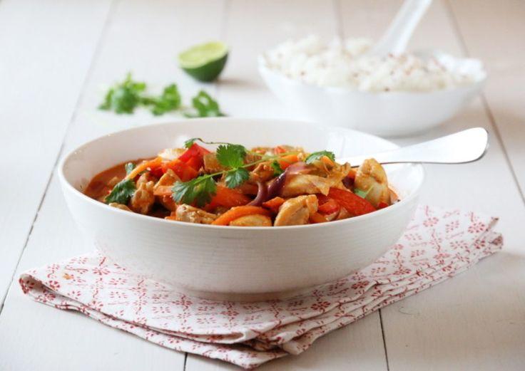 Dette er en av mine favorittretter til hverdags, en deilig curry med kylling og mange gode smaker.