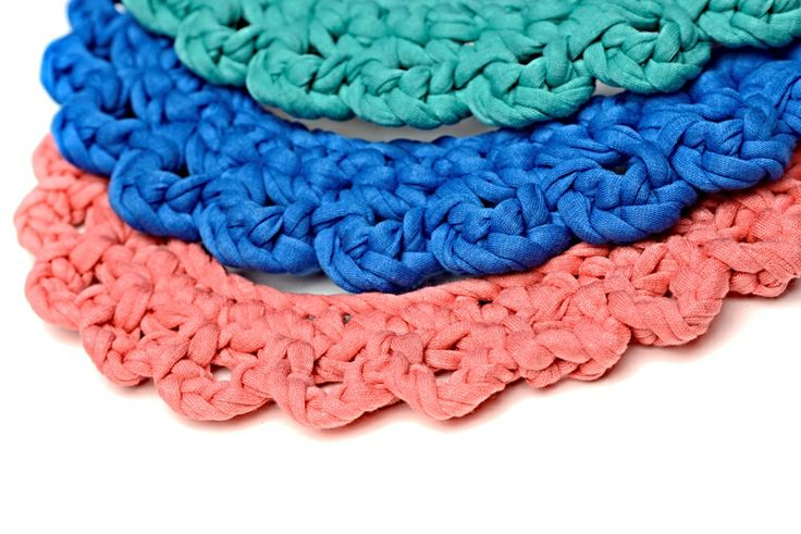 Maccheron 100% Fabric Crochet Collars - Designed and handmade with ♥ ...in Budapest ...by me :-) Like my page on FB: www.facebook.com/Maccheron