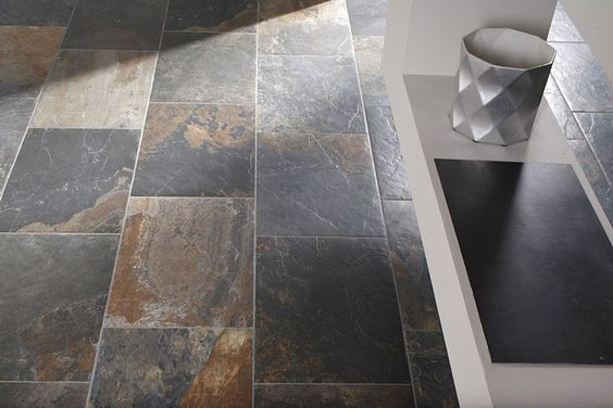Slate Stone Julie : Best slate tile bathrooms ideas on pinterest