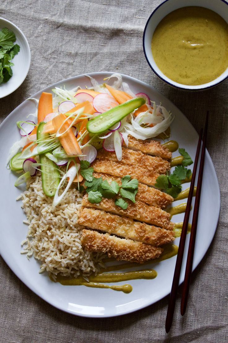 MALAYSIAN KATSU CURRY | Chicken Katsu Curry is one of those dishes that once discovered is hard to forget and frequently returned to. This variation adds an extra chilli punch and aromatic quality of Malaysian cuisine.An excellent dinner party special.