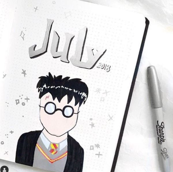 40 Magical Harry Potter Bullet Journal Ideas You Need To See Almost A Mess Harry Potter Geburtstag Bullet Journal Journal