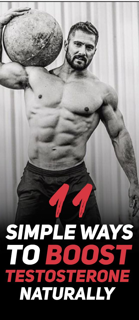 Here are the 11 Simple Ways To Boost Testosterone Naturally! As you probably already know - testosterone is the number one muscle and strength building hormone that runs in your body. This is exactly why attempting to increase its production has to be number one priority. This article lists 11 natural and simple ways that you can use to boost testosterone production (without the need of pills and other supplements) that will lead to a bigger and stronger you! Check them out!
