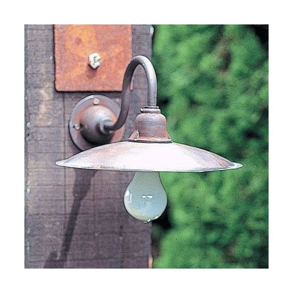 玄関 照明 門柱灯 門灯 外灯 屋外 ガーデンライト レトロ風照明 A灯 アンティーク風 ブラケット LDT-1 照明器具 おしゃれ 電球型蛍光灯 15W|ガーデン&エクステリア 通販 エストア