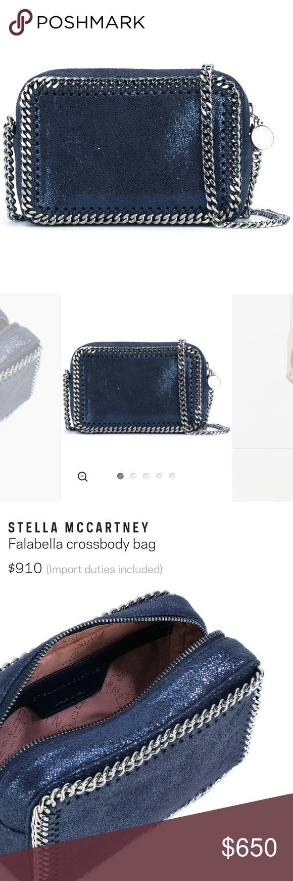 SALE Stella Mccartney Falabella crossbody bag Gorgeous brand new STELLA MCCARTNEY Falabella crossbody bag. Bought from Farfetch 1 month ago for $910. My loss is your gain! Price is lower through Е B A Y. Stella mccartney Bags Crossbody Bags