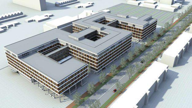 nog meer over ziekenhuizen.en in een andere plaats wordt dit het nieuwe delftse Reinier de graafgasthuis eind2015 in gebruik