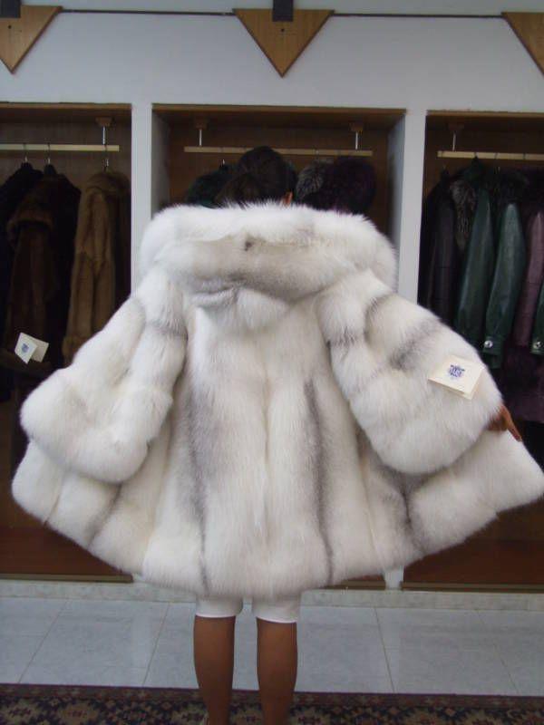 Arctic Fox Fur Parka Furs Amp Fur Coats Fur Coat Fur