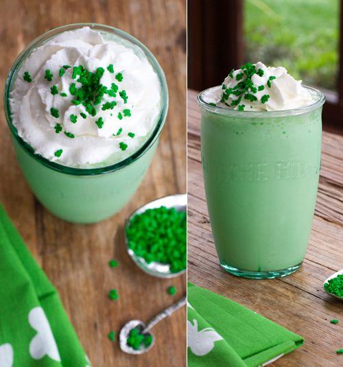 Frullato e Frappè Ricette: Milkshake Menta e Vaniglia