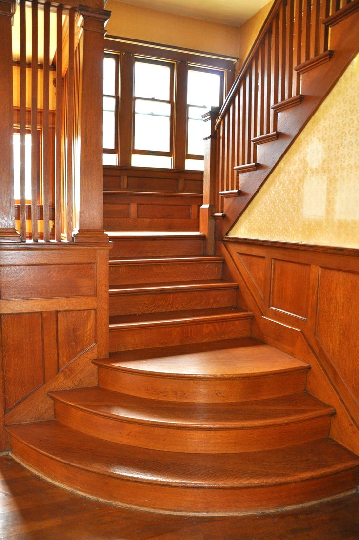 34 Best Arts Crafts Staircases Images On Pinterest