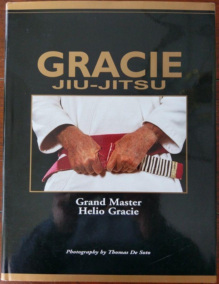 Gracie Jiu-Jitsu Book by Grand Master Helio Gracie *AUTOGRAPHED by Rorion Gracie
