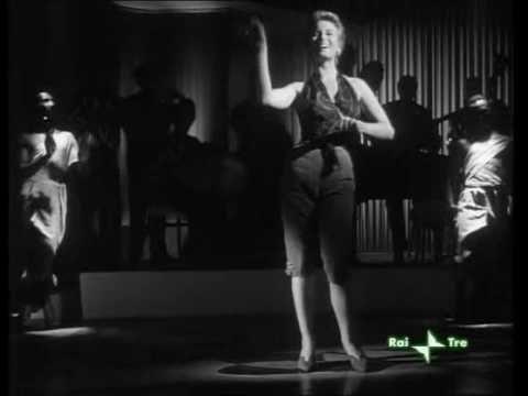 "Sooo good. Silvana Mangano shaking her groove thang and singing ""El Negro Zumbon"" from the movie ""Anna"" circa 1951."