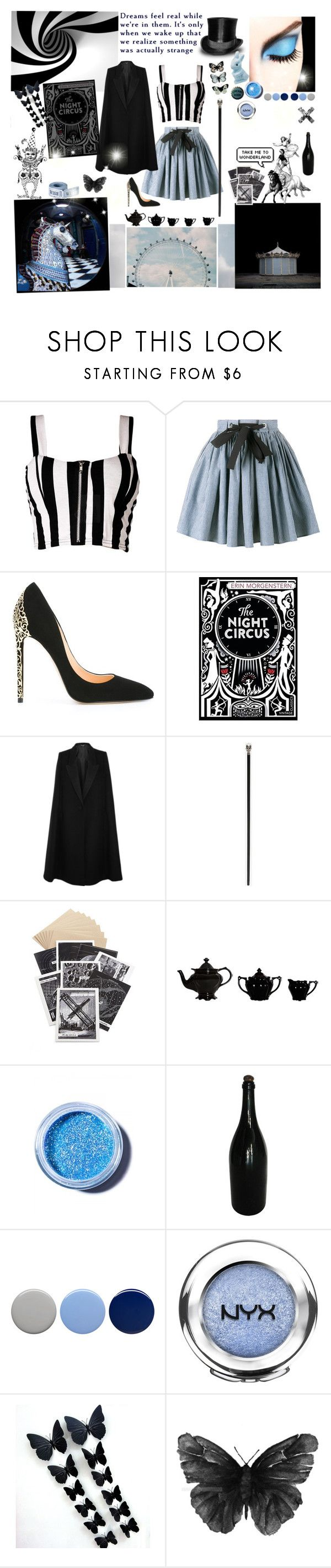 """""""2/50 Stripes"""" by not-the-average-girl ❤ liked on Polyvore featuring Boob, Miu Miu, Cerasella Milano, Bebe, STELLA McCARTNEY, Alexander McQueen, Jayson Home, Lime Crime, Burberry and NYX"""