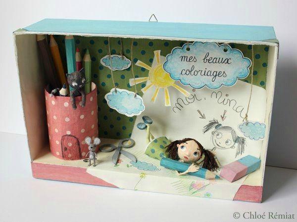 """""""Mes Beaux Coloriages"""" - Photo de BOITES ET CADRES DISPONIBLES * Available boxes and frames - Tibout de blog"""