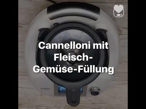 Thermomix® TM5 - Cannelloni mit Fleisch-Gemüse-Füllung - YouTube